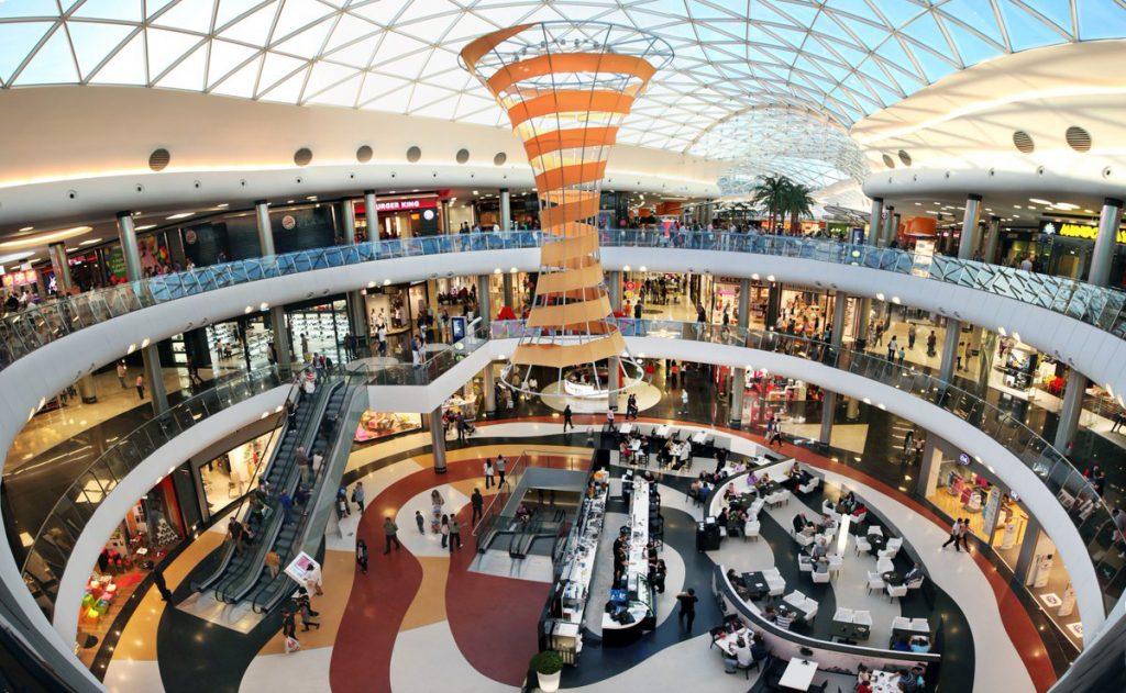 Feria de Fanquicias en España : Centro comercial Marineda en A Coruña