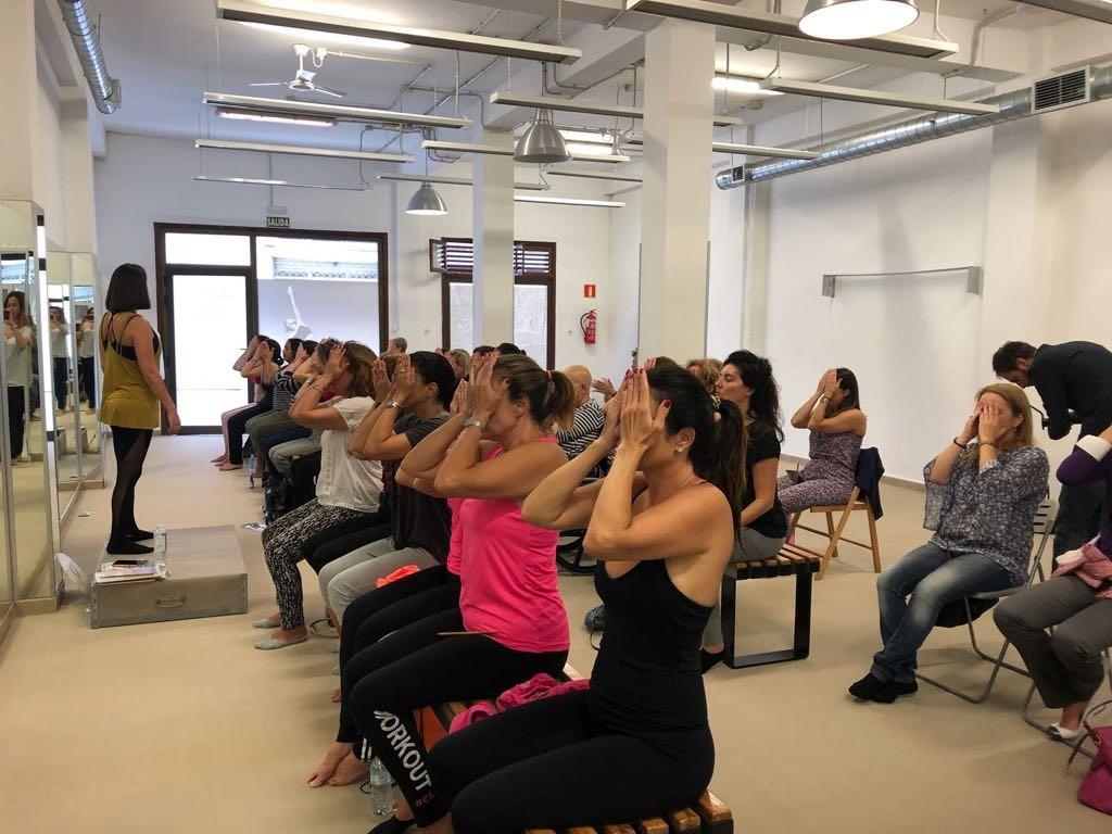 Yoga facial: franquicias de belleza