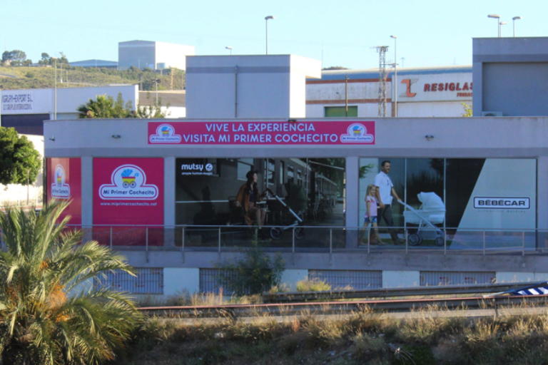 Mi primer cochecito en Murcia