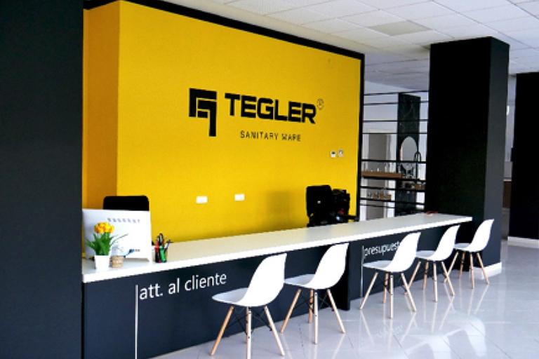 Otra vista de la nueva franquicia de Tegler en Murcia