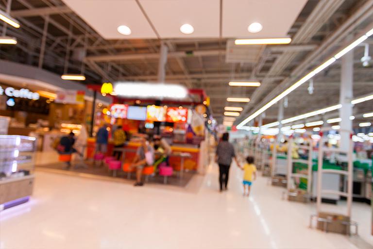 franquicias en isla de supermercado