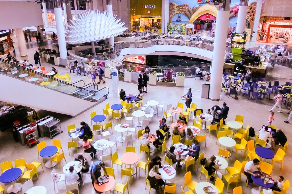 abrir franquicia en un centro comercial